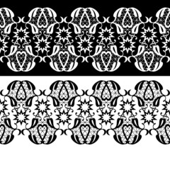 Lace seamless pattern textile background