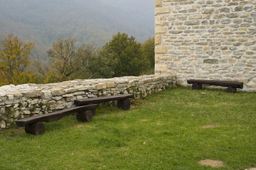 benches on medvedgrad