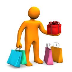Manikin Shopping Bags Gift