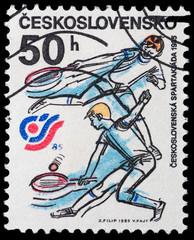 Czechoslovakia sports and athletics meeting