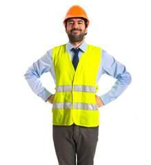 Important workman