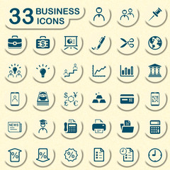 33 jeans business icons