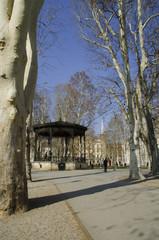 pavillion in zrinjevac park, zagreb
