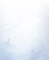 Vector snow background.