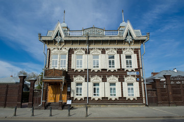 Holzhaus in Irkutsk