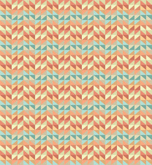 geometric pattern background with zigzags. retro style