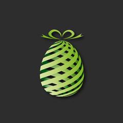oeuf vert