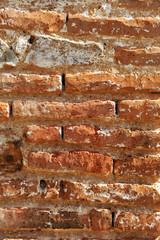 Muro de ladrillo viejo, textura, fondo