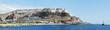 canvas print picture - Hotelanlage an der Steilküste von Puerto rico
