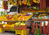 Fresh fruits and vegetables, Sorrento, Italy