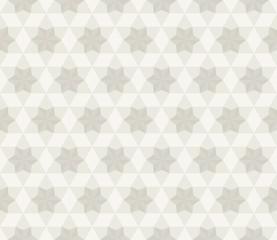 Antique Star Pattern, Seamless Background