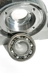 Mounted roller bearing unit blank. Mechanical engineering.