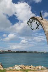 Bird Sculpture by Tropical Harbor