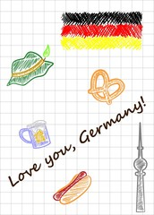 love you germany