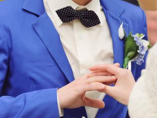 Putting on Wedding Ring