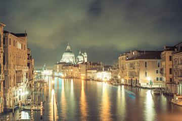Santa maria della salute, Venice by night