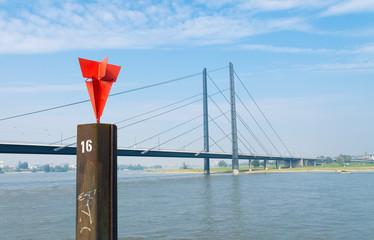 bridge in dusseldorf, germany