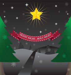 Night Christmas Bg
