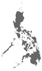 Philippinen in grau