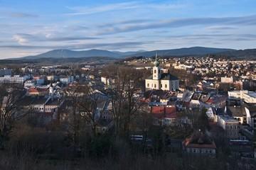 Czech Republic-Autumn view of Trutnov