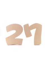 数字・27