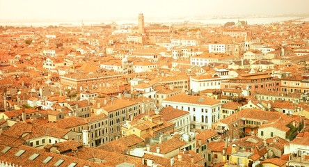 Venice From Top Travel Vacation Background 4K