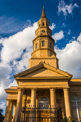 Saint Philip's Church in Charleston, South Carolina.