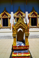 samui bangkok in thailand incision of the    temple