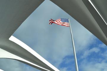 Bandera Estados Unidos Pearl Harbour