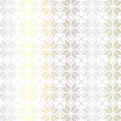 silver nordic pattern