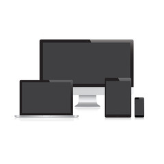 Modern Device Collection Black Screen