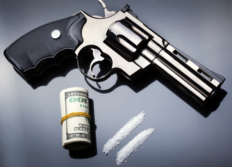 Gun, drugs and money