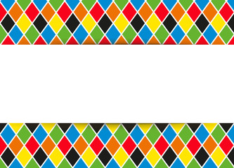 Harlekin Hintergrund - Banner