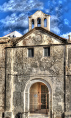 Carmelo church in Alghero, Italy.