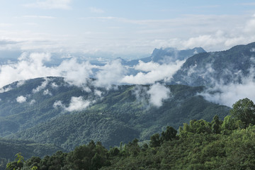 landscape from laos
