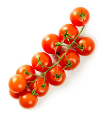 Ripe fresh cherry tomatoes