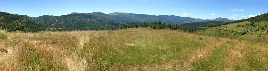 vue panoramique dans la Drôme