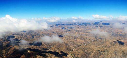 Andes Boliviennes, vue aérienne