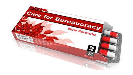 Cure for Bureaucracy - Blister Pack Tablets.