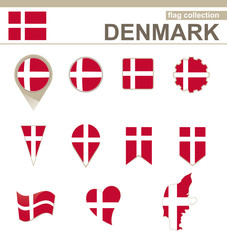 Denmark Flag Collection