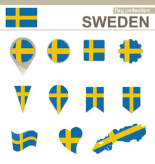 Sweden Flag Collection