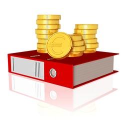 Unterlagen und Finanzen - Finanzcheck, Belege, Rechnungen