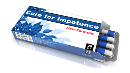 Cure for Impotence - Blister Pack Tablets.