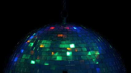 Disco ball. 4K UHD 2160p footage.