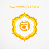Symbol of Swadhisthana chakra vector