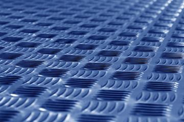 Blue diamond steel metal sheet