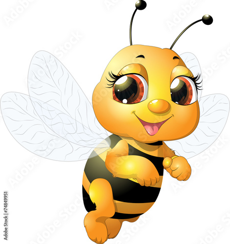 beautiful bee - 74849951