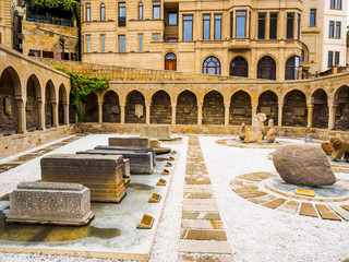 Ancient Market in Old City of Baku