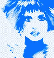 punkstyle blue