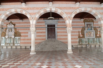 Loggia Lionello in Place of Freedom, Udine, Italy